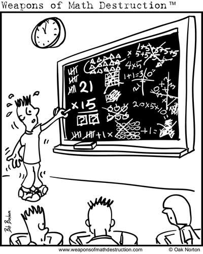 Weapons of Math Destruction Comics