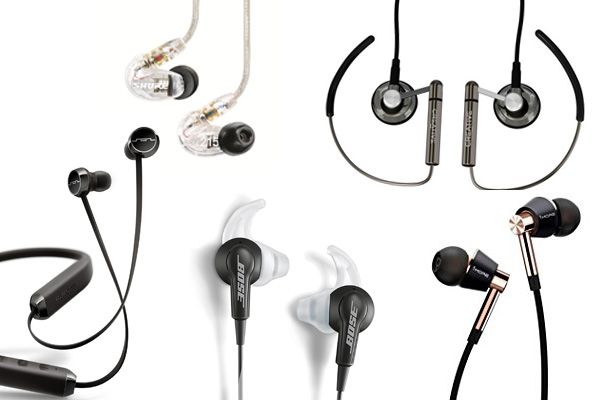 Best Earbuds, earphones, in ear headphones under 100 of 2017