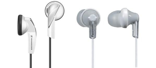 Earbuds vs canalphones