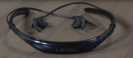 Samsung level U wireless neckband (sit around the neck) headphones gain the momentum. Cheap yet it works well as either a headset and bluetooth in ear headphones