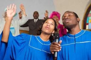 church audio singers