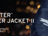 levis commuter trucker jacket - wearable tech clothing
