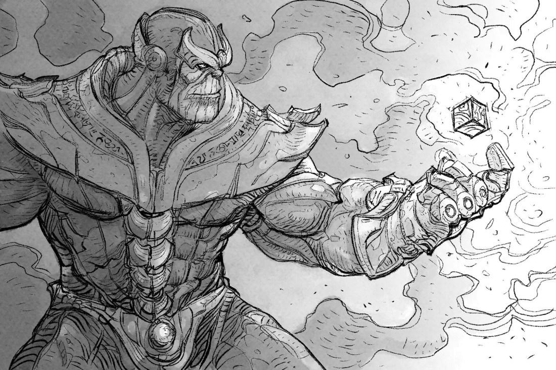 Daniele Afferni - Thanos: gigantic