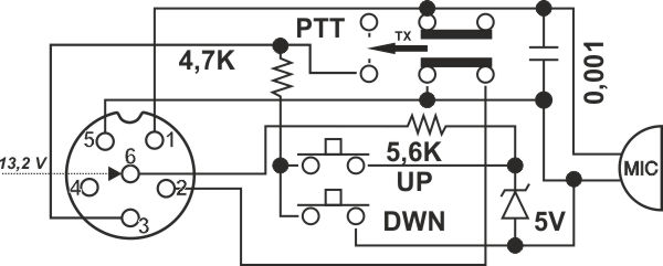 motorola microphone schematic