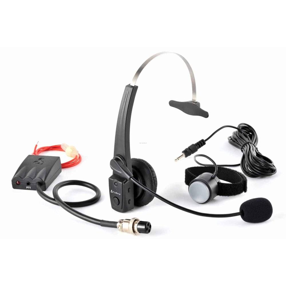 medium resolution of cabtcb4 cobra hands free bluetooth wireless cb headset wiring headset for cb radio