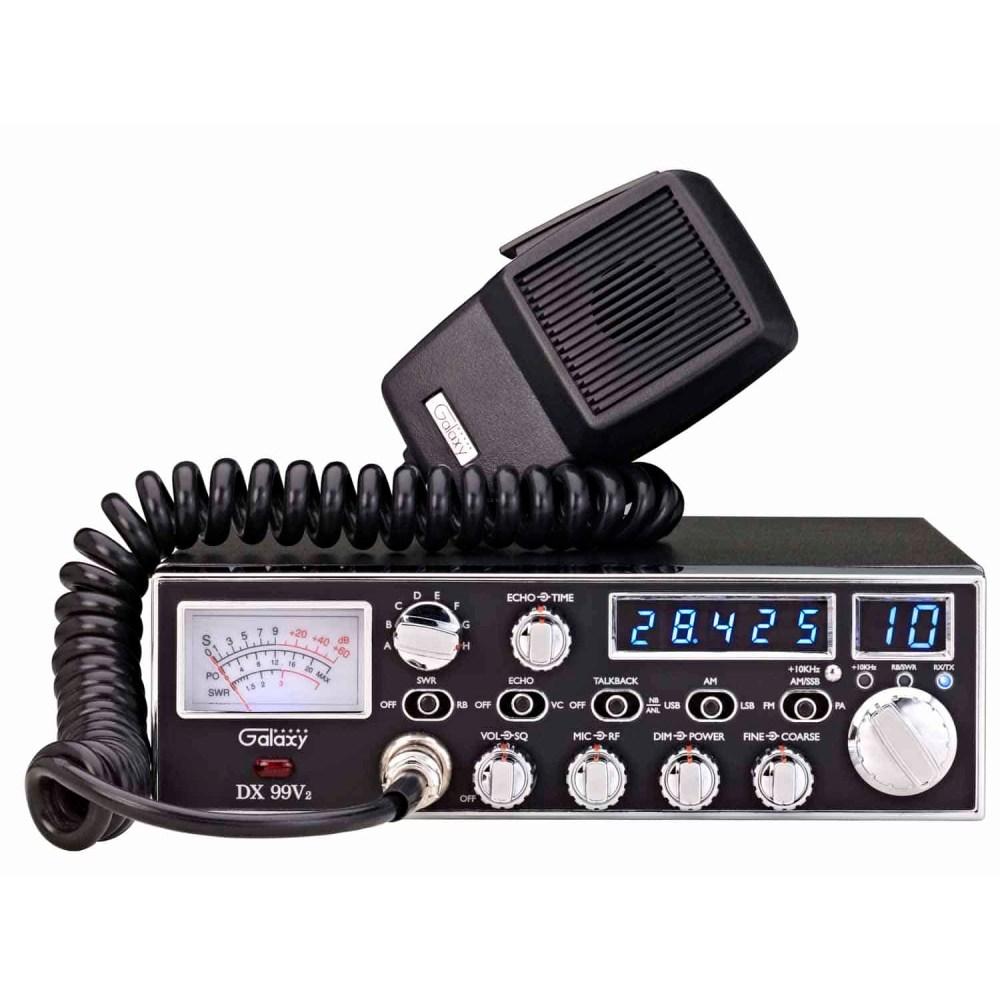 medium resolution of dx99v2 galaxy 45 watt 10 meter mobile radio