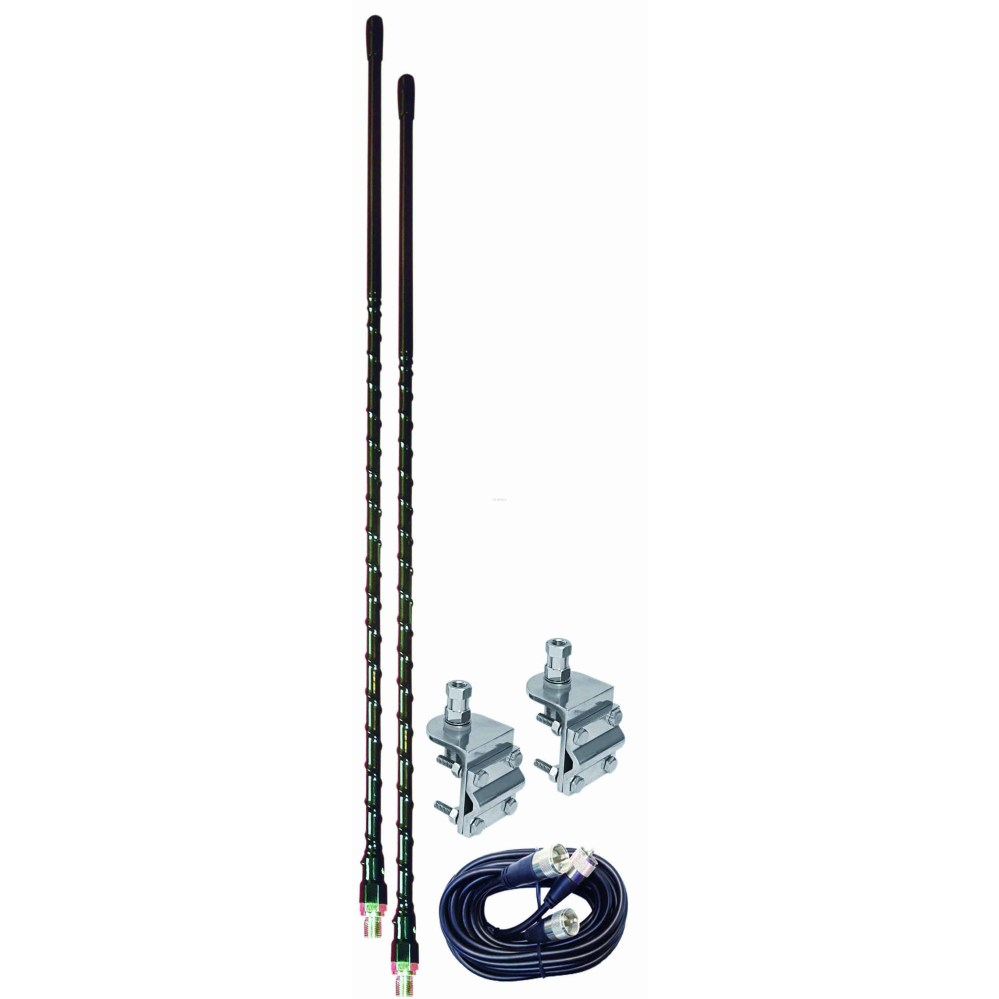 medium resolution of aumm23 b 3 black dual cb antenna kit