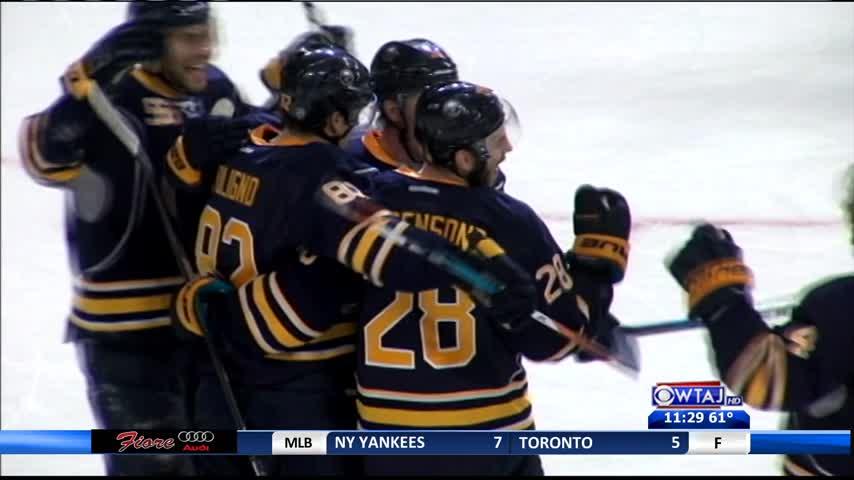 Wild edge Sabres in Hockey Valley