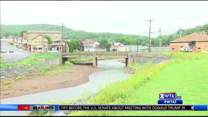 77 Flood hits Nanty Glo