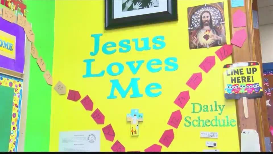 Students celebrate Catholic Schools Week