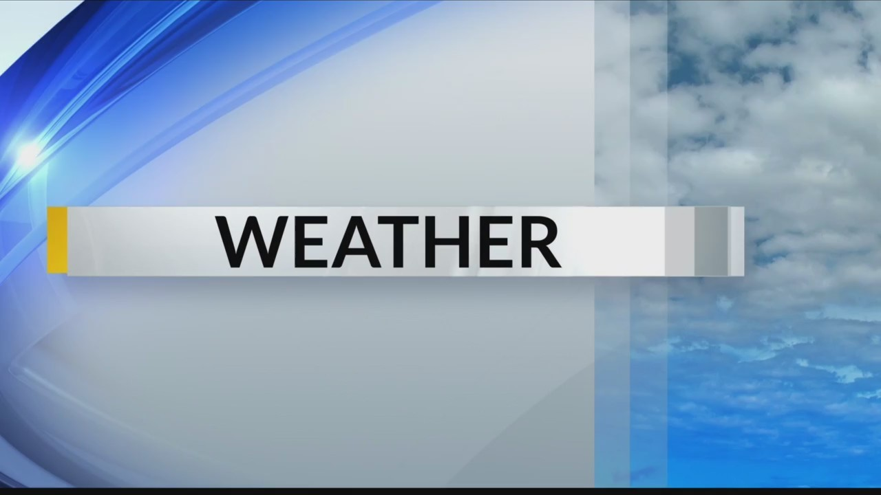 Evening Weather Forecast Tuesday, October 23rd, 2018