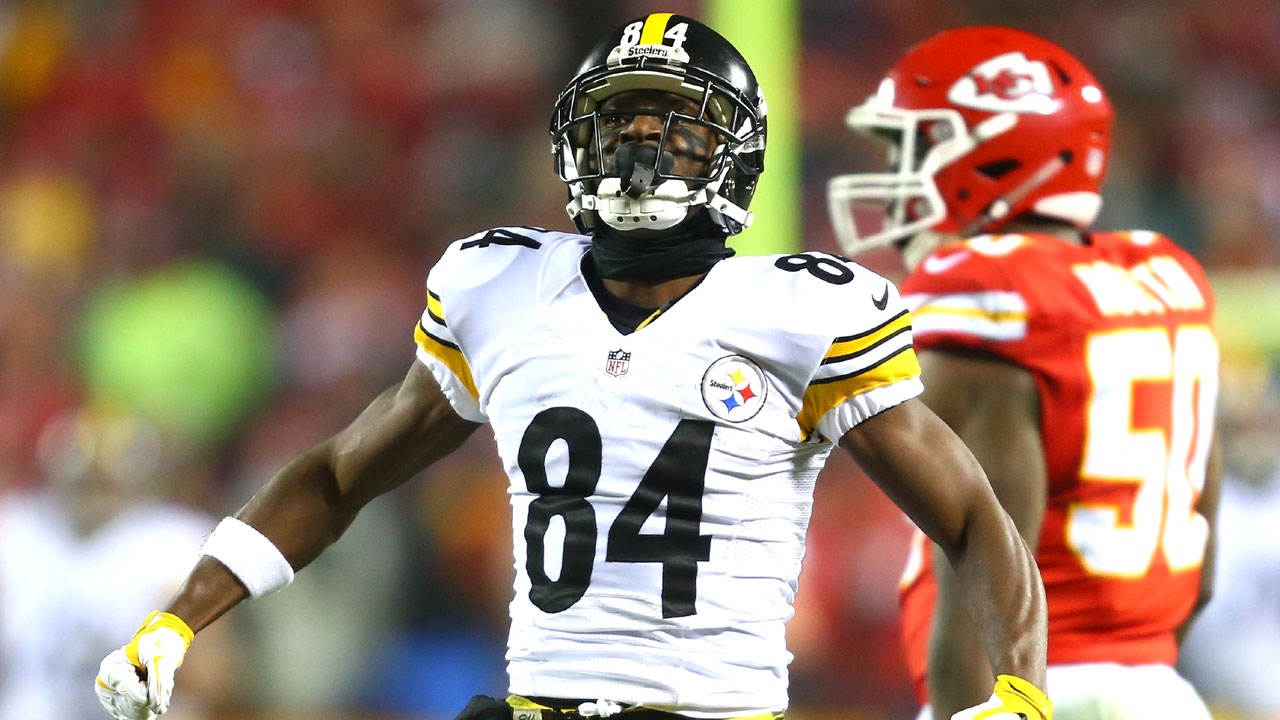 Antonio Brown, AFC divisional playoff game01798402-159532