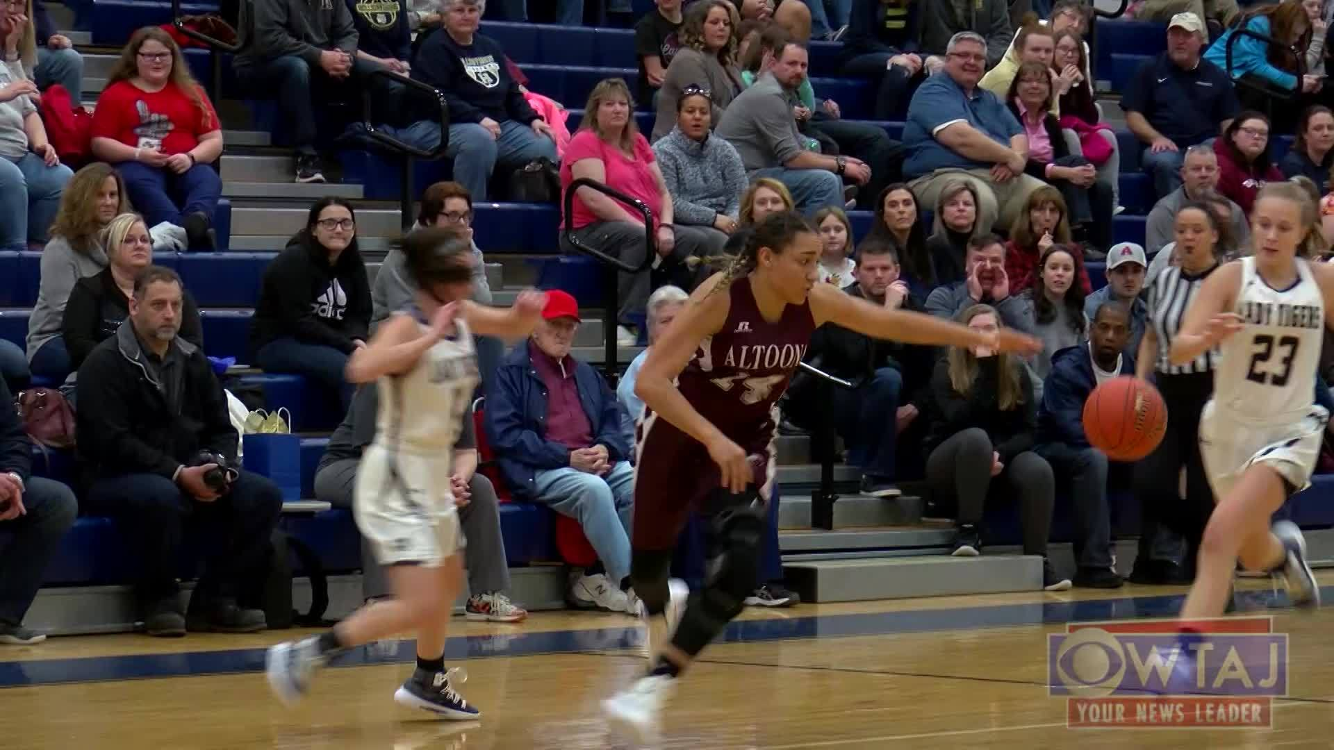 EXTENDED HIGHLIGHTS: Altoona wins 48-44 against Hollidaysburg, Girls Basketball