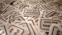 Matthew Hoffman You Are Beautiful stickers murals