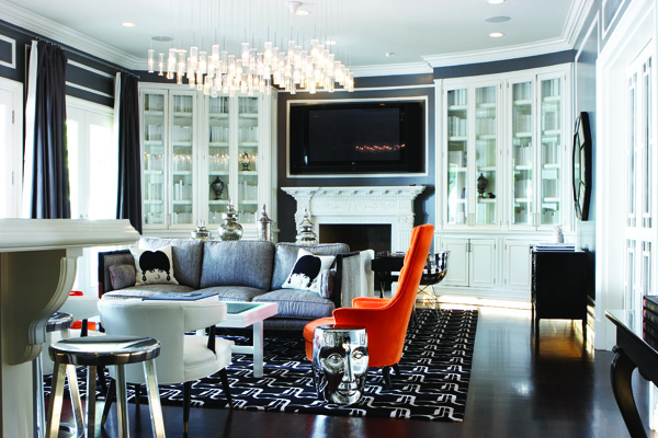 Aly Daly Design Max and Lubov Azria house