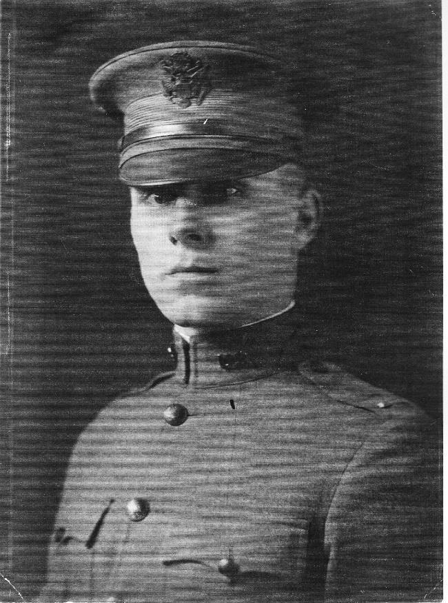 Army Lieutenant T.E.Gentry