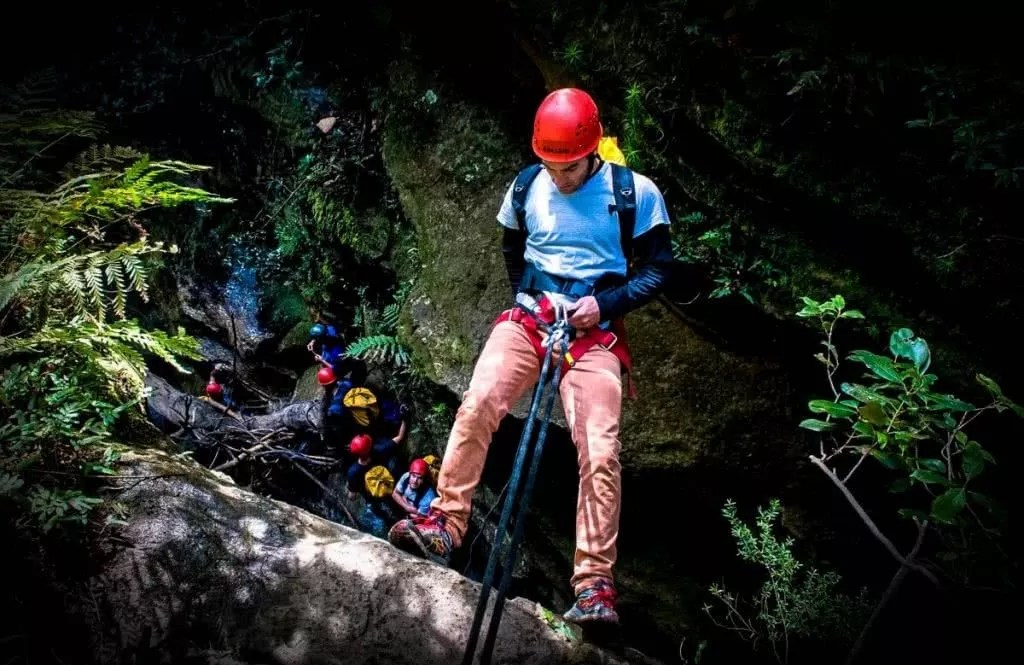 Canyoning the Blue Mountains