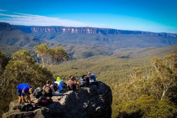 two day trek to mt solitary in the blue mountains