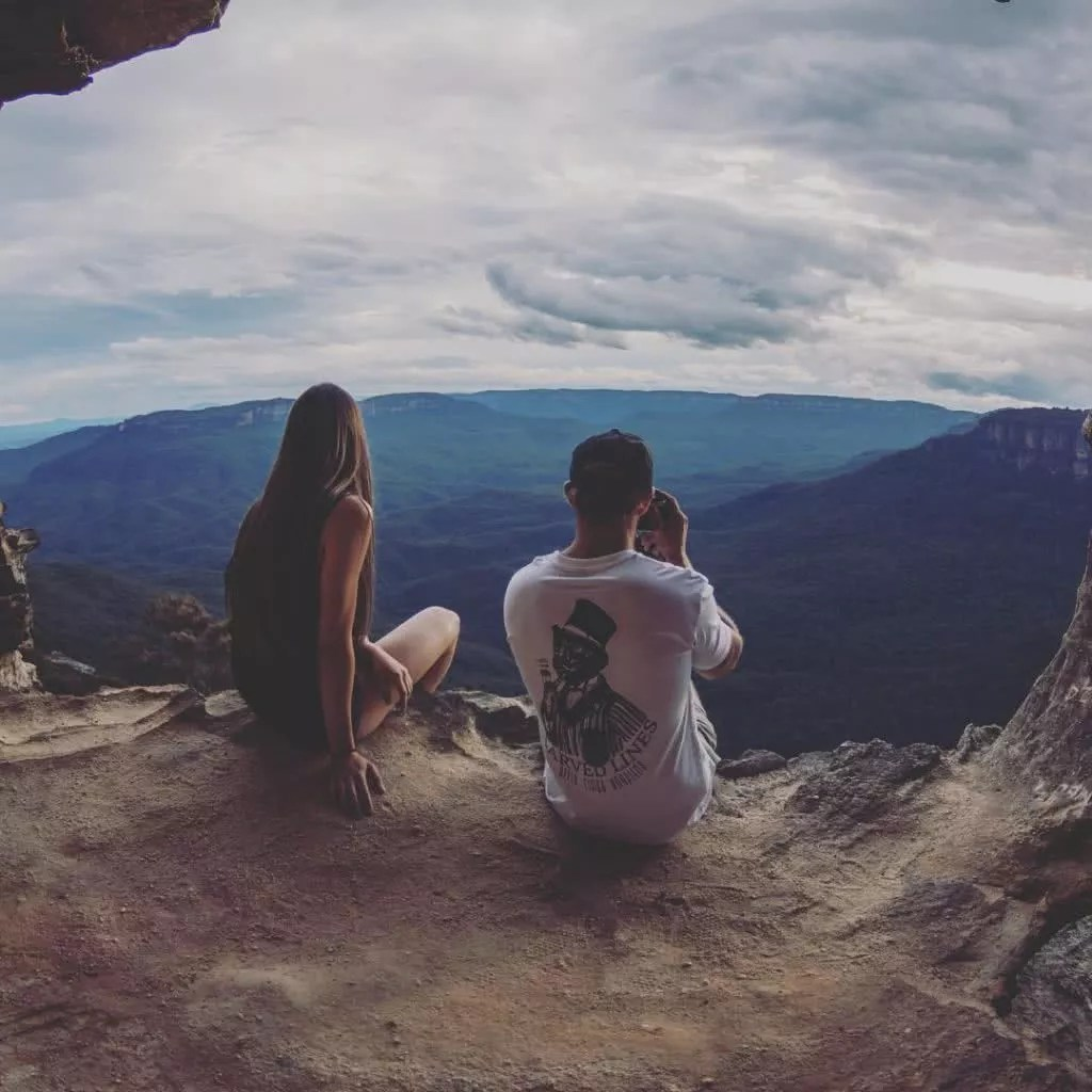 """Microadventures with @aaronkellyphoto 5/5 """"This particular day I was taking photographs for a local brand and they really wanted to encapsulate the feeling of adventure and give people motivation and inspiration to get outdoors. It is also a place I visit quite often and this place to me, is THE BLUE MOUNTAINS. This is what draws me here time and time again, there are so many incredible places to see and for somewhere that can literally be visited via a short drive and short walk is fantastic for anyone and everyone."""" #weareexplorers"""