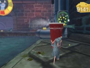 Ratatouille PSP Gameplay