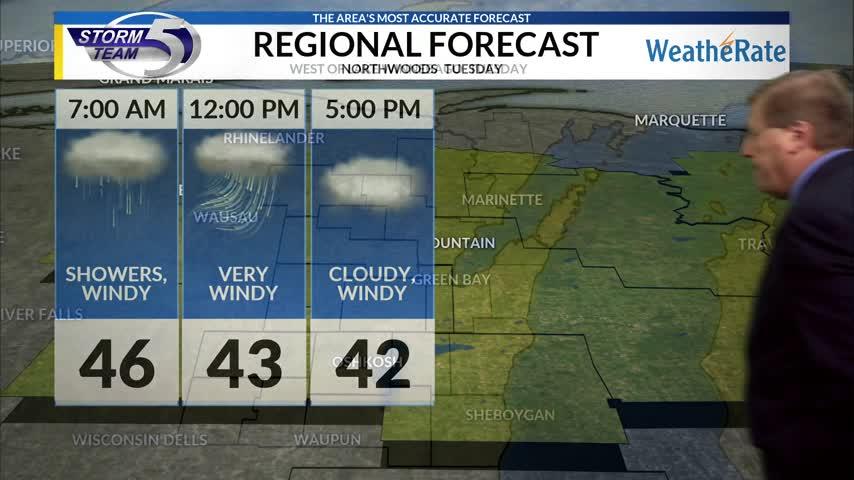 Regional Forecast: Northwoods 10/24/2017