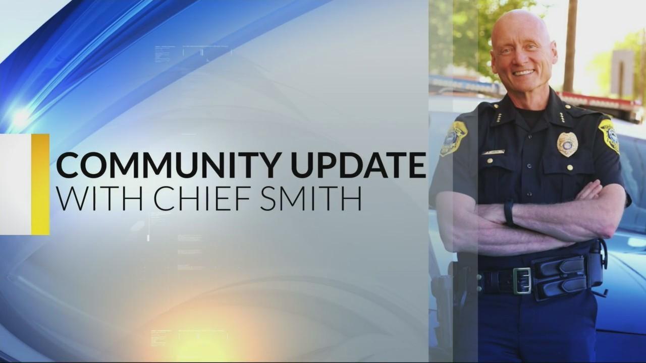 Chief Smith Community Update: 1-25-17