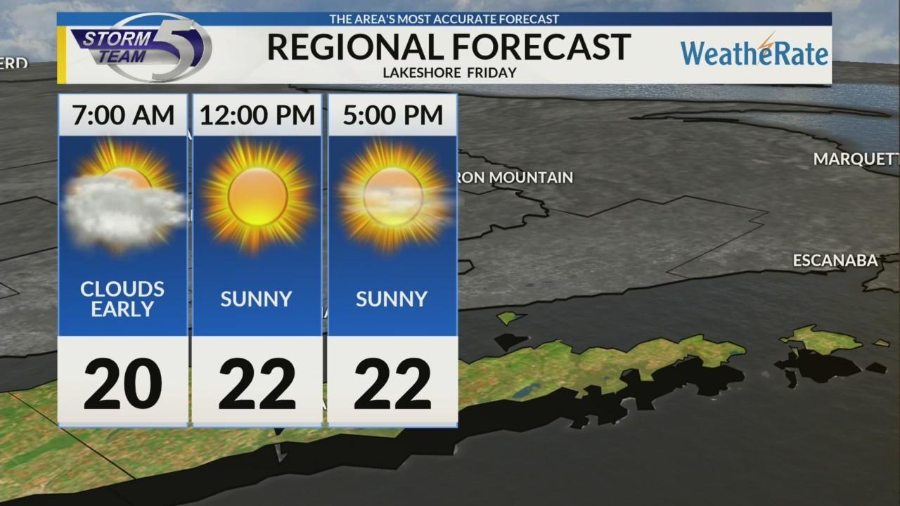 Regional Forecast Lakeshore 2-16