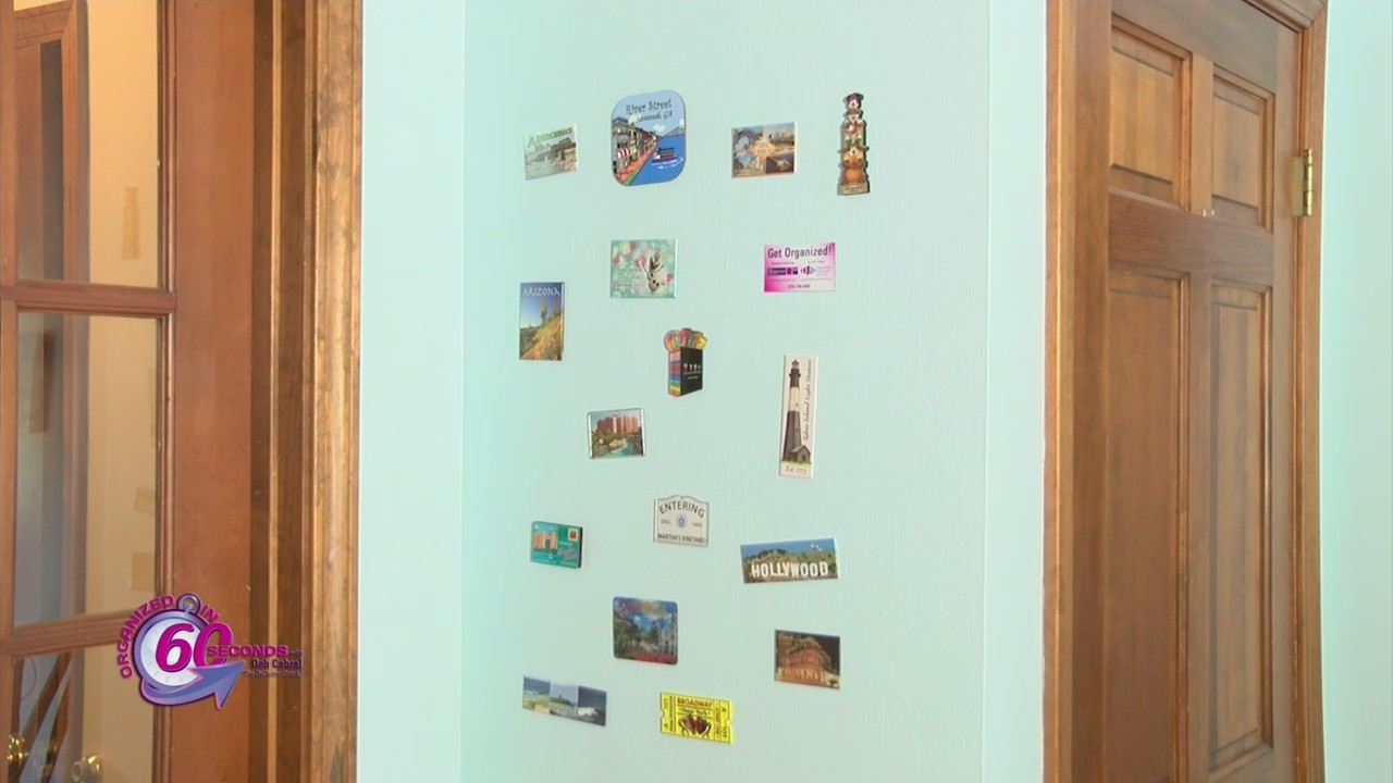 Organized in 60 Seconds: Magnetic Wall
