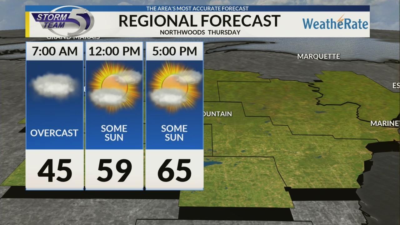 Regional Forecast: Northwoods 5/3/2018