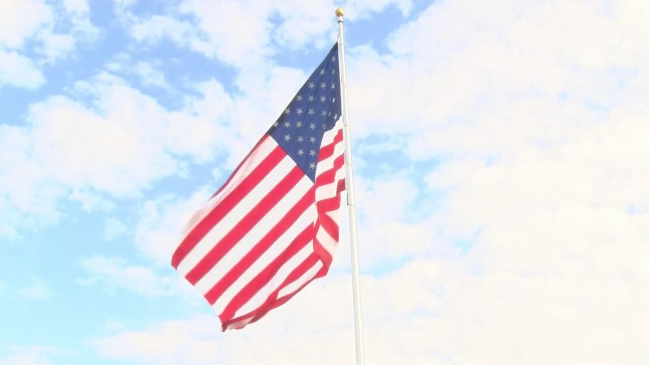 Perkins Flag Raising