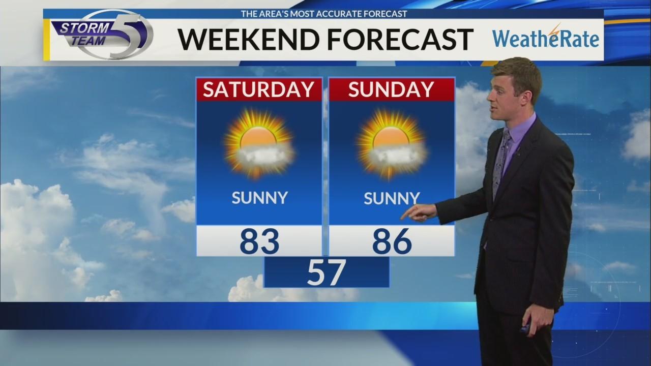 Friday Morning Video Forecast 8/17