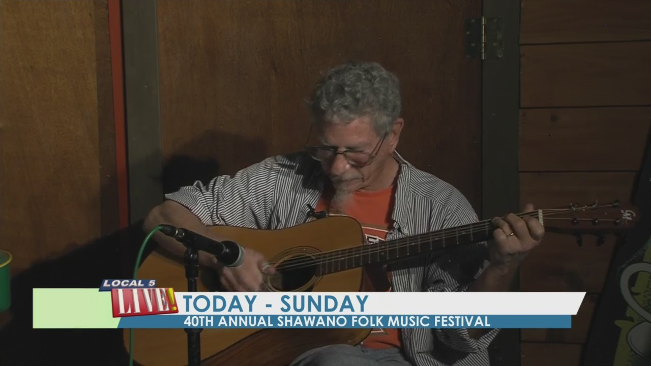 Our Town Shawano 2018: Folk Music Festival, Andy Cohen Performance