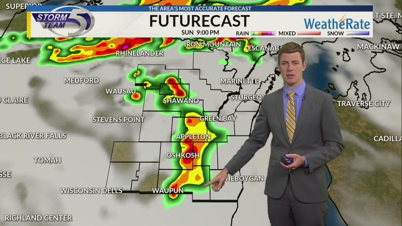 Sunday Morning Video Forecast 8/26