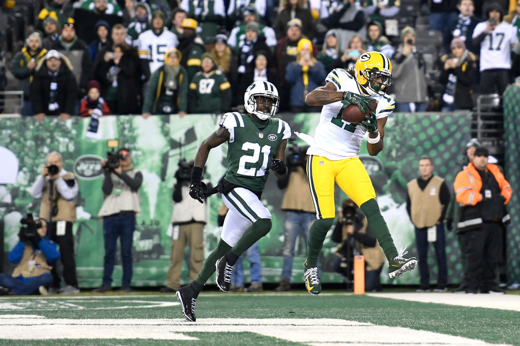 Packers Davante Adams Game Winner vs New York
