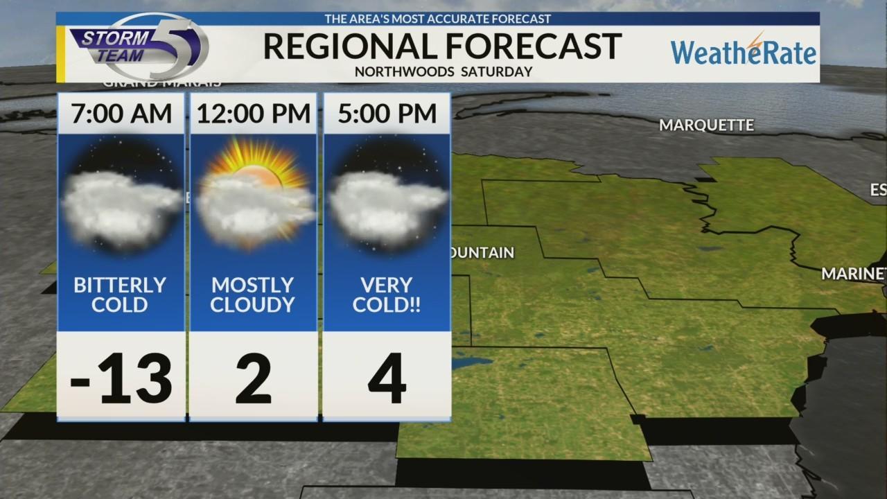 Regional Forecast: Northwoods 1/26/2019