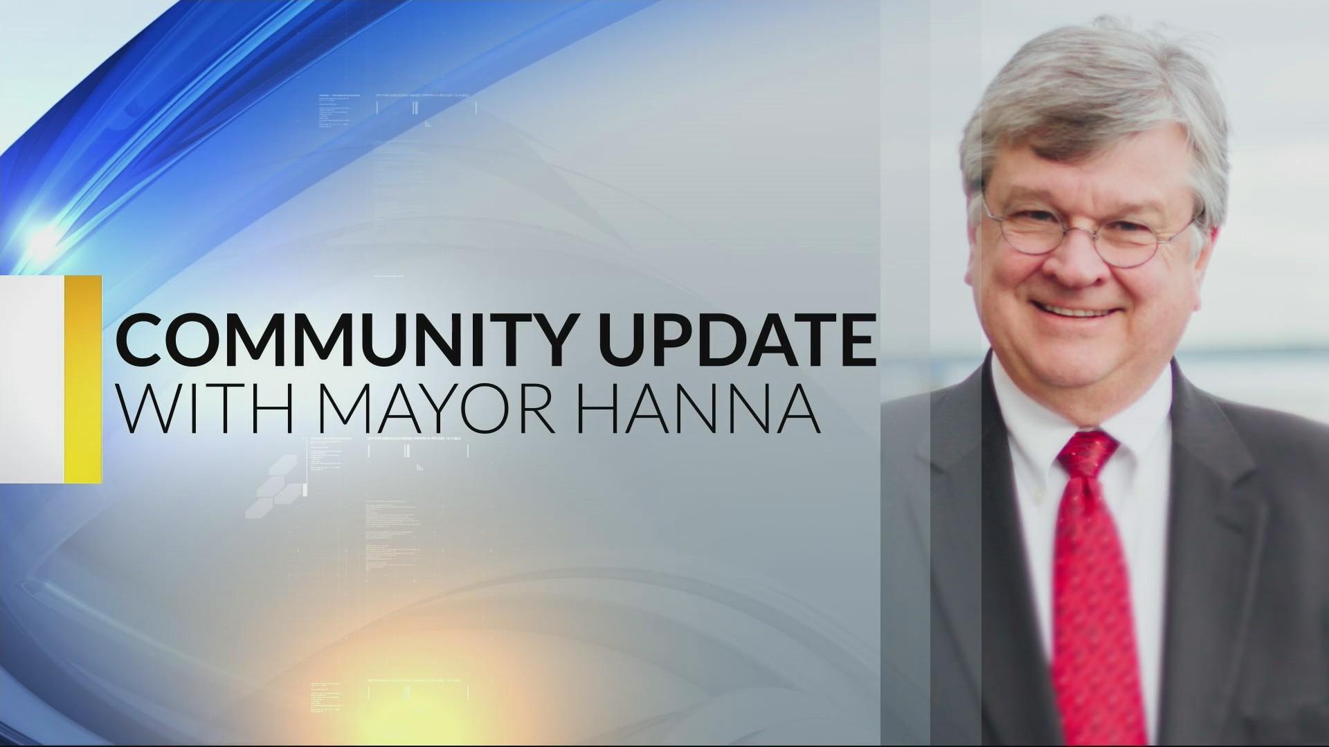 Mayor Hanna Community Update: 2-19-19