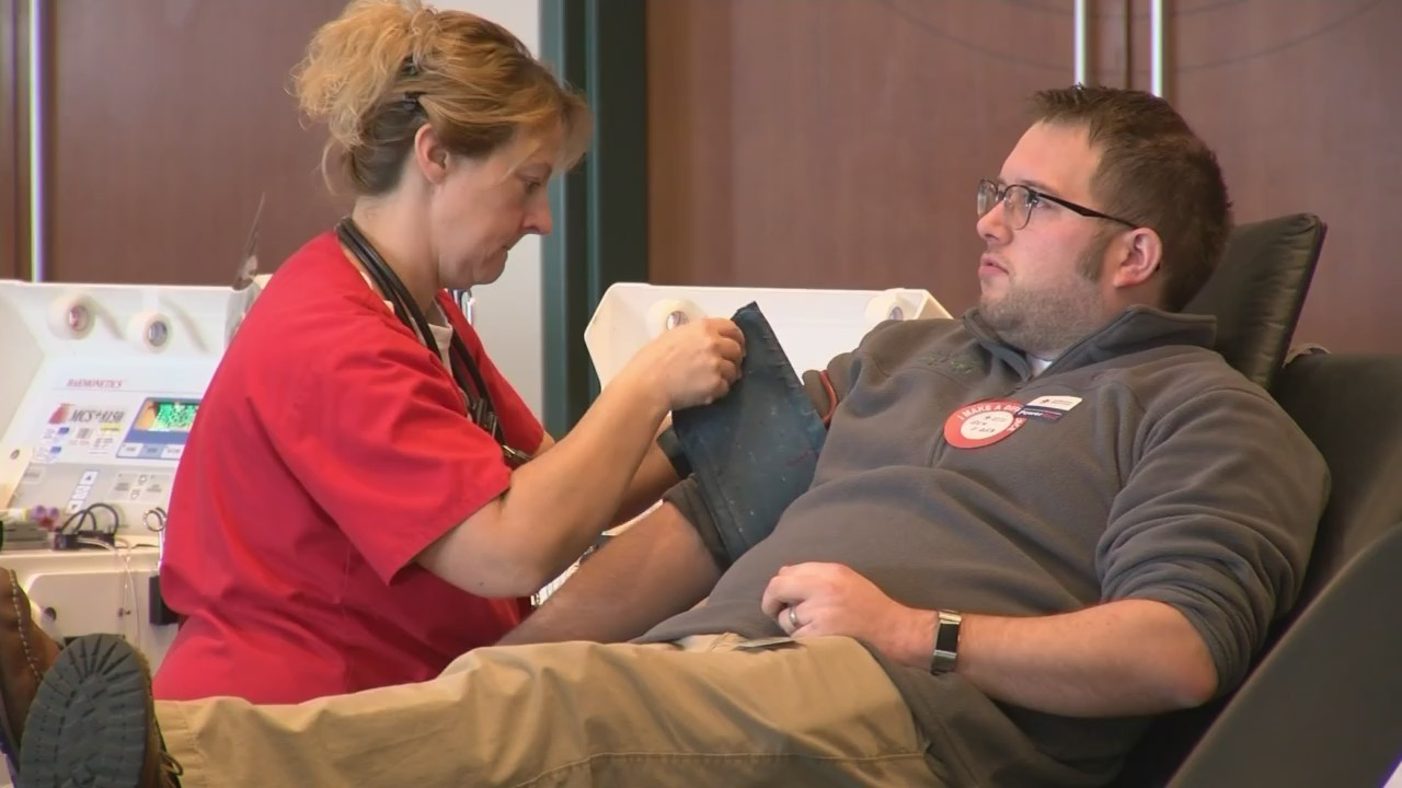 GB Packers Give Back Community Blood Drive