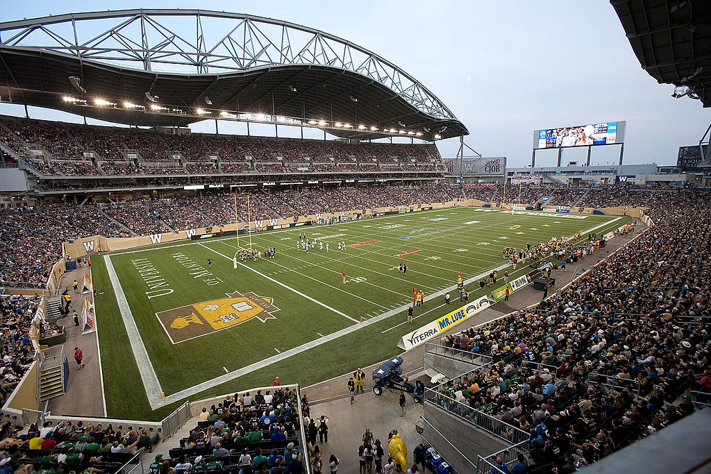 Investors Group Field in Winnipeg