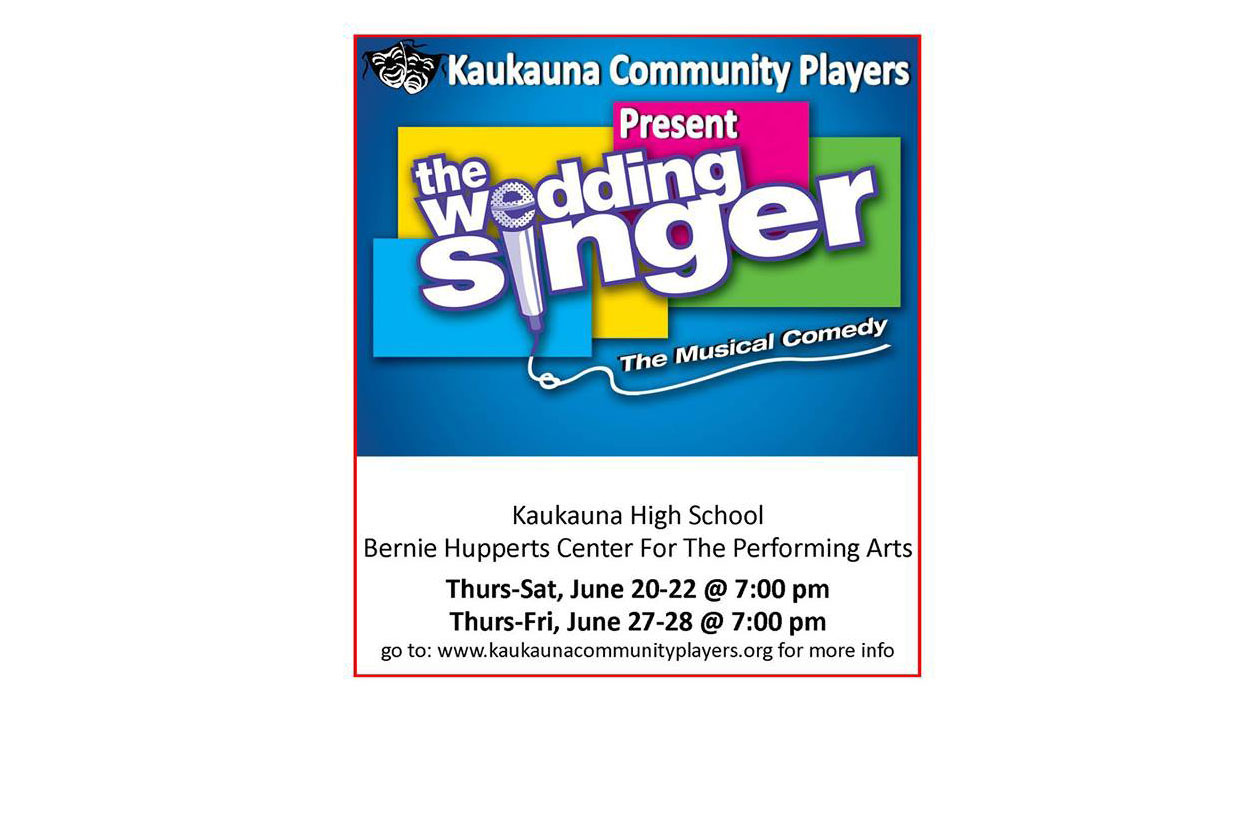 Kaukauna Community Players The Wedding Singer image_1560709768992.jpg.jpg