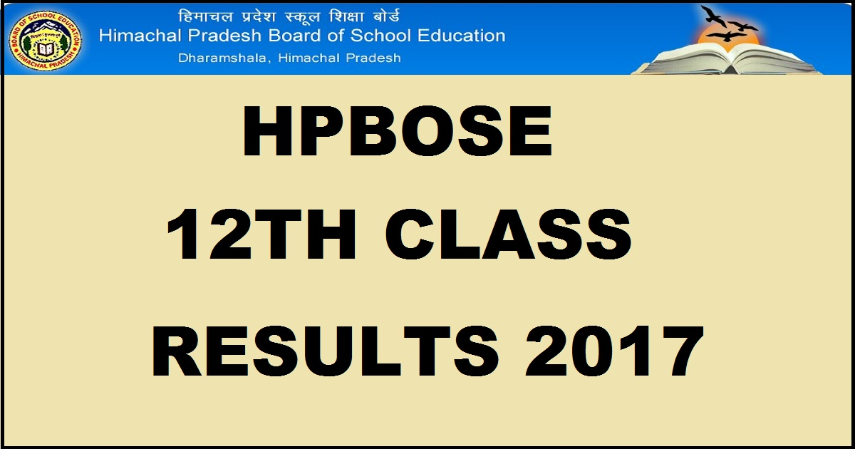 Himachal Pradesh Board of School Education declared 12th result