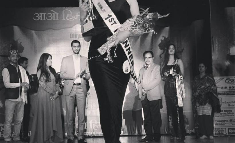 Rakhi Sharma Miss Himachal 2017