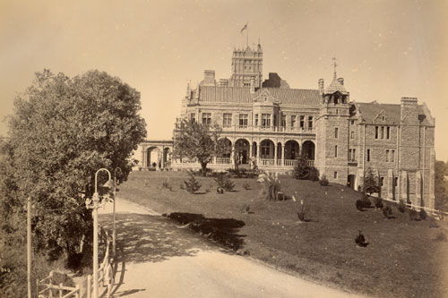 Indian institute of advanced studies Old Photograph Shimla Himachal Pradesh