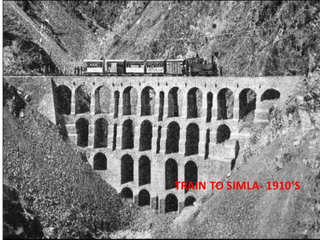Kalka Shimla train 1910