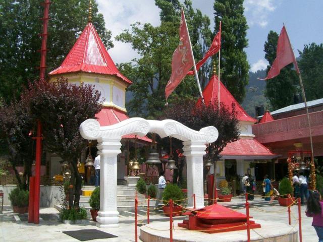 naina devi Mandir Bilaspur Himachal Pradesh  Maojor temples in Himachal