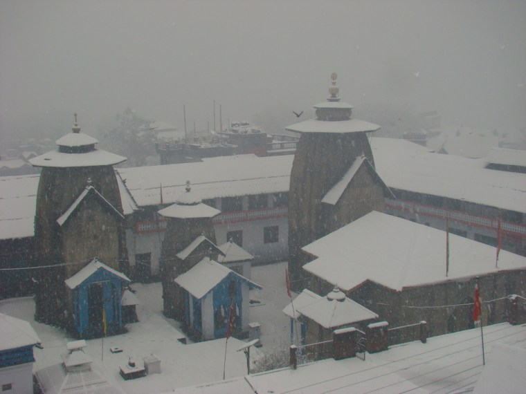 lakshmi Narayan Temple Chamba during Snow Places of worship in Chamba Himachal Pradesh
