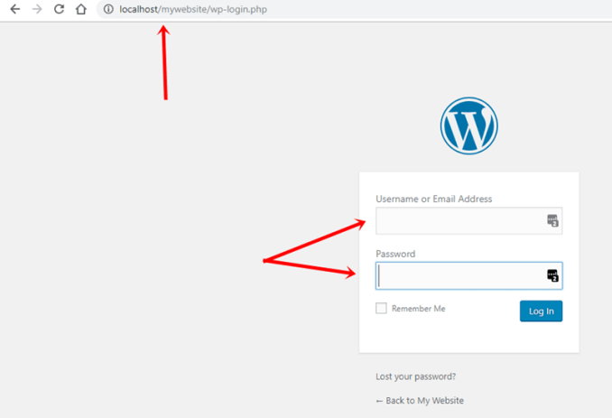 install wordpress on local server using xampp