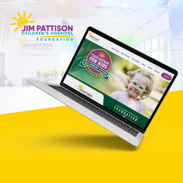 Website Design for the Pattison Children's Hospital