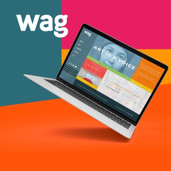 Website Design for the Winnipeg Art Gallery
