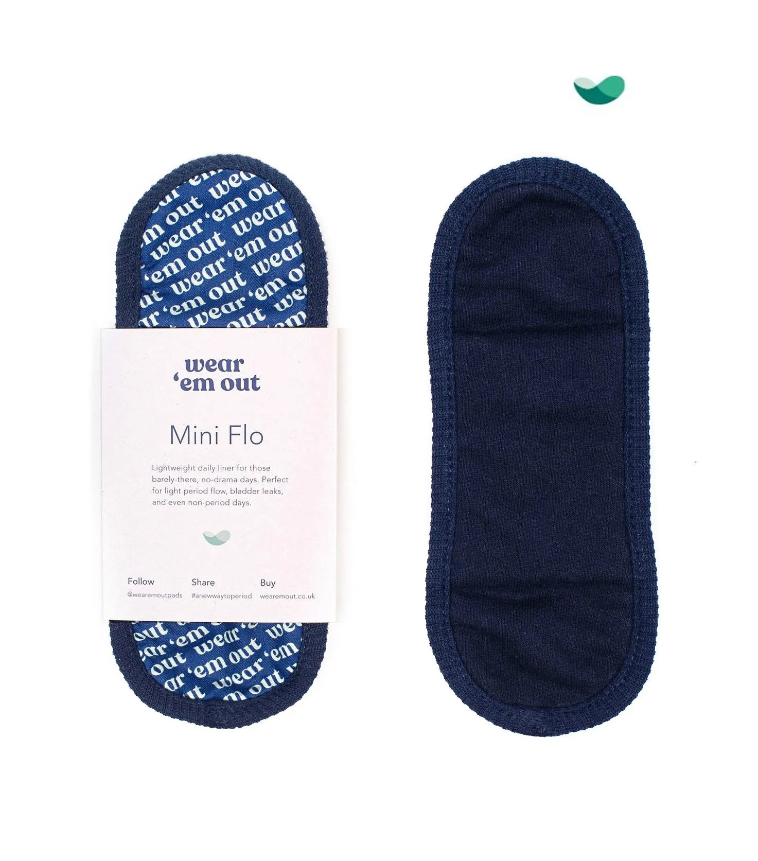 Mini Flo Wear 'em Out reusable Period Sanitary Pad