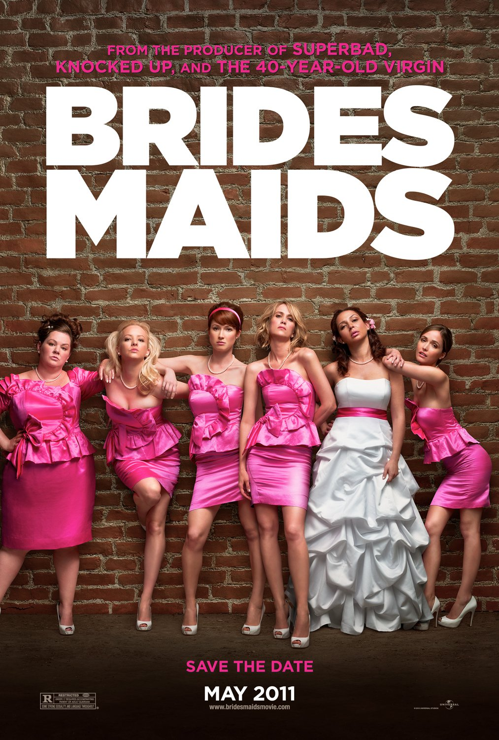 Image result for bridesmaids poster